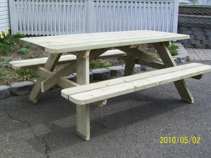 Table de Pique-Nique « Adulte » dim. 28'' X 71''
